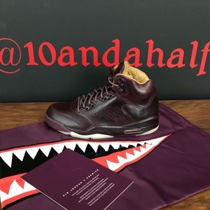 Air Jordan 5 Retro Premium 'Bordeaux'